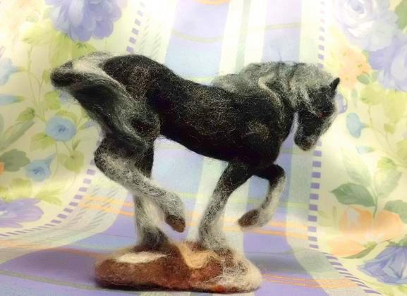 白黒の馬4