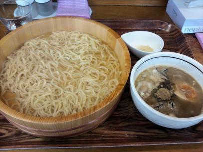 心  つけ麺普通盛り700円
