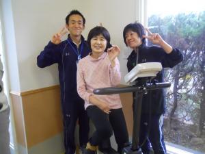 長田さんゴール1