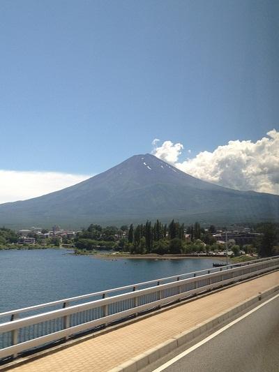 合宿富士山