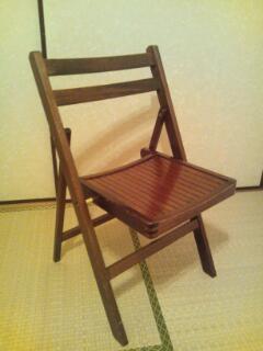 リサイクル椅子