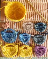 ミニバッグ・編み物