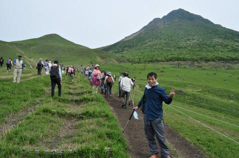由布岳山開き (2)