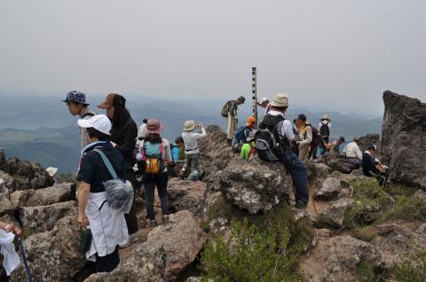 由布岳山開き (14)