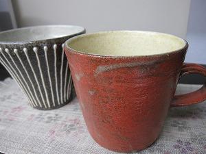 信楽マグカップ