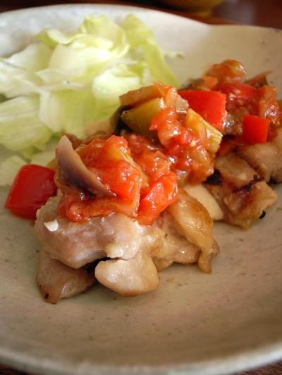 マリマイカフェ 鶏肉