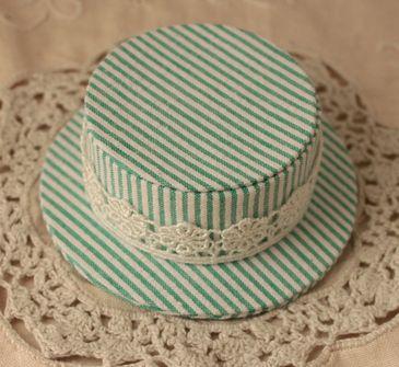 mini hat green2