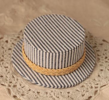 mini hat navy1