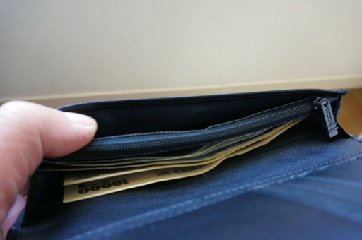 TUMI 019243DLARGE CURRENCY WALLET』