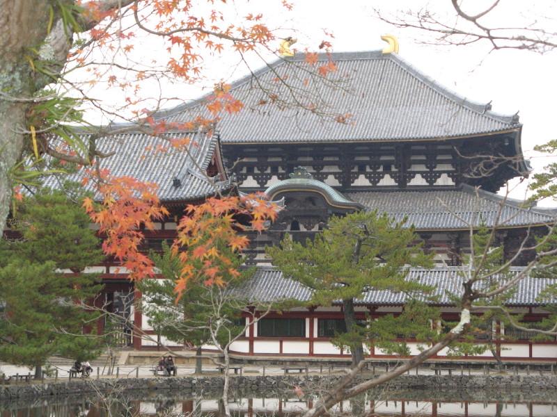 晩秋の大仏殿