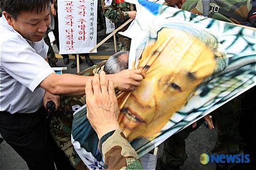 韓国デモ14