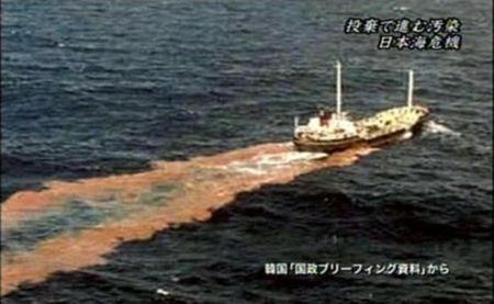 韓国 汚水海洋投棄