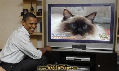 モモちゃん&オバマ大統領