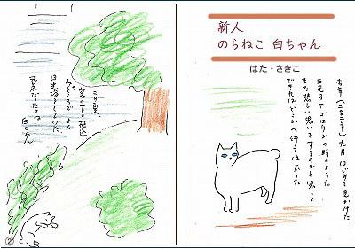 1 新人のらねこ①②のコピー