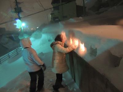 8吹雪の合間に無事点灯DSCN4768