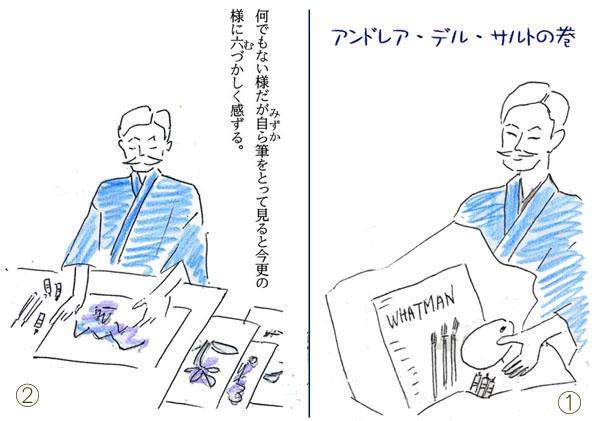 アンドレア・デル・サルト①②のコピー
