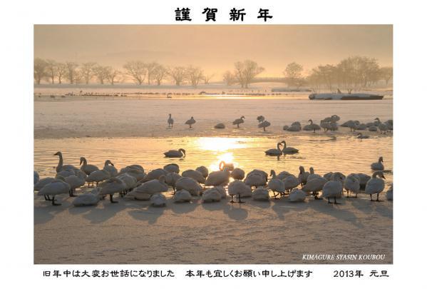 ★2013 年賀状印刷用★最終(1) ブログ用