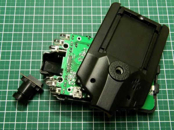 005-DVR レンズ改造