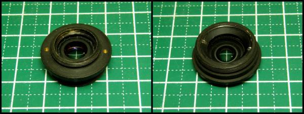 013-DVR レンズ改造