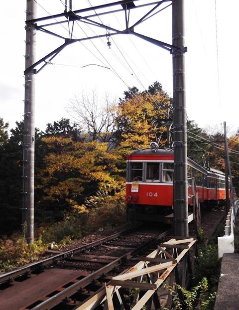 登山鉄道風景9