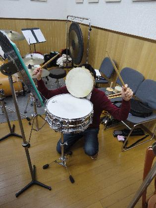 121215:ドラムの某君