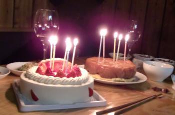 ダブルケーキ
