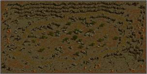 エルベルグ山脈-岩の谷