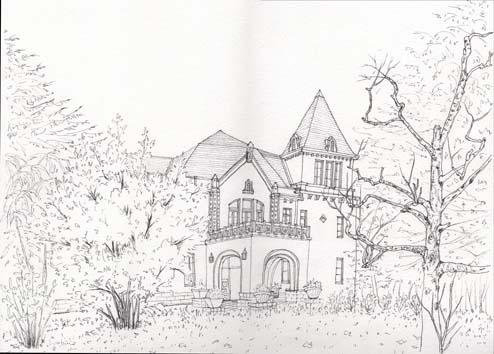 前田邸ペン
