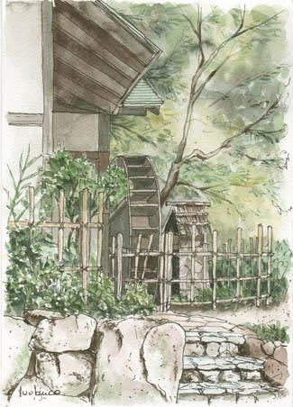 寺家ふるさと村水車小屋