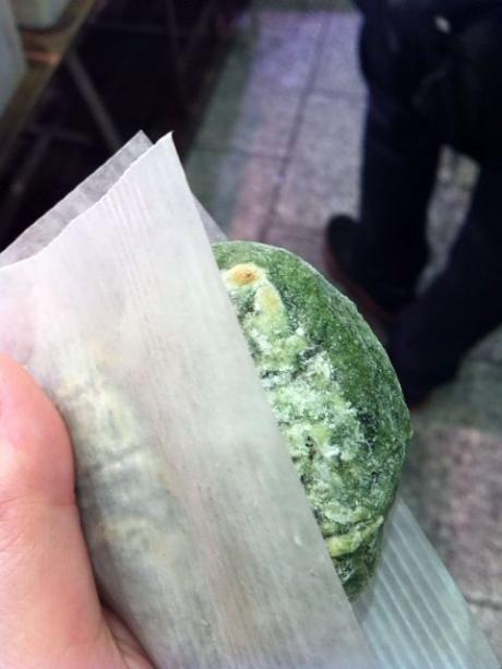 錦市場焼き餅