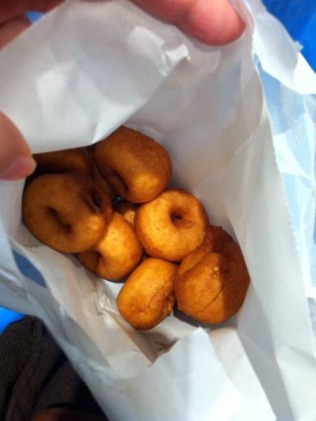 錦市場豆乳ドーナツ1