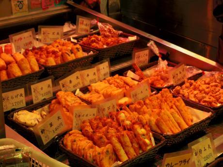 錦市場天ぷら2