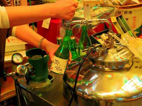 錦市場日本酒1