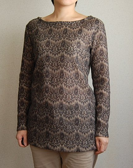 Burda Long Pullover1