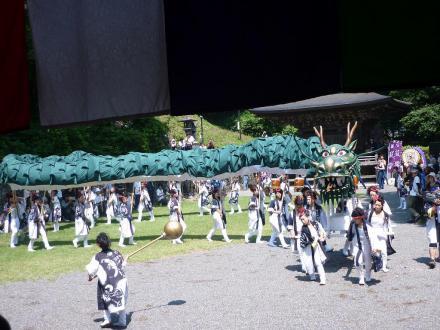 姫龍龍神の舞