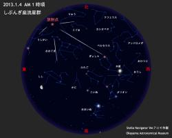 しぶんぎ座流星群2013
