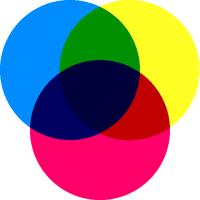色料の三原色