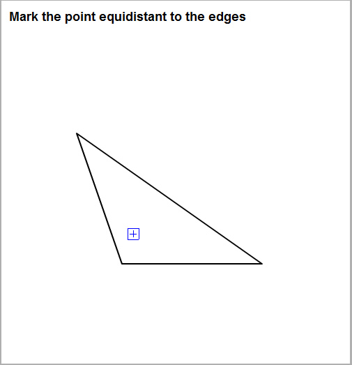 三角形の中心を求める