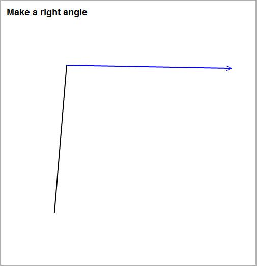 直角を求める