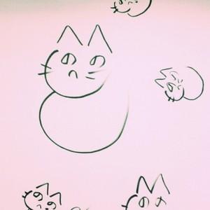 へのへのもへじ猫05
