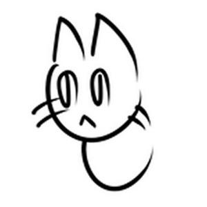 へのへのもへじ猫04