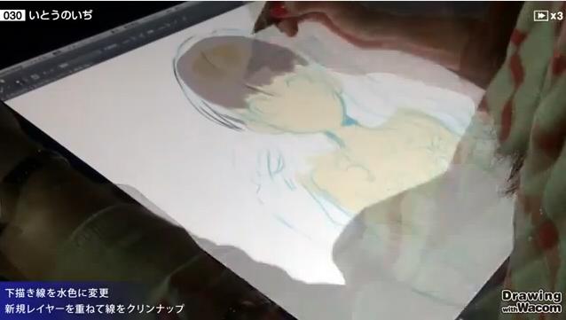 いとうのいぢ_メイキング_07