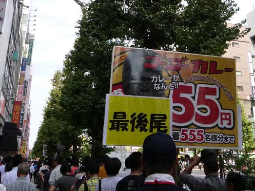 ゴーゴーカレー秋葉原スタジアム店55円013