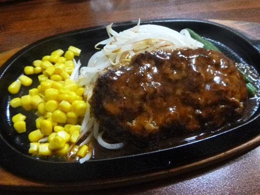 ステーキのくいしんぼ神田神保町店でハンバーグランチ013