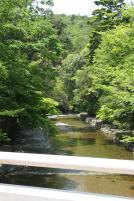 神宮内にも川が流れています。