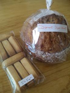 パンとクッキー