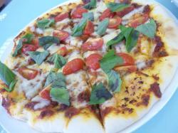 グリル焼きピザ