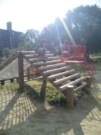 公園に行きました☆