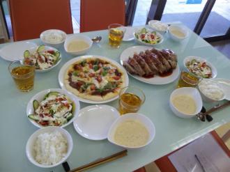 ガスキッチン料理教室