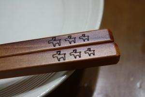 トナカイのお箸